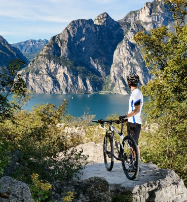 Mountain Bike am Gardasee